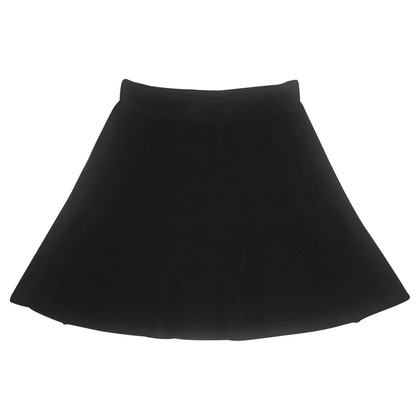 Claudie Pierlot Black knit skirt