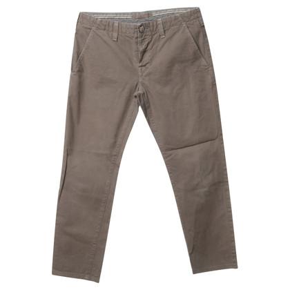 J Brand Pantaloni di cotone verde