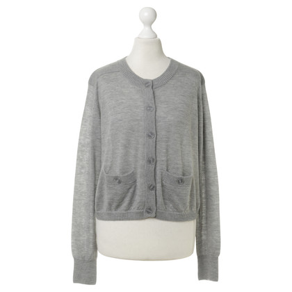 Marc by Marc Jacobs Kaschmirstrickjacke in Grau