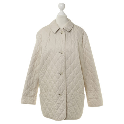 Burberry Quilted Jacket in cream