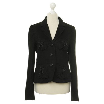 By Malene Birger Blazer in black