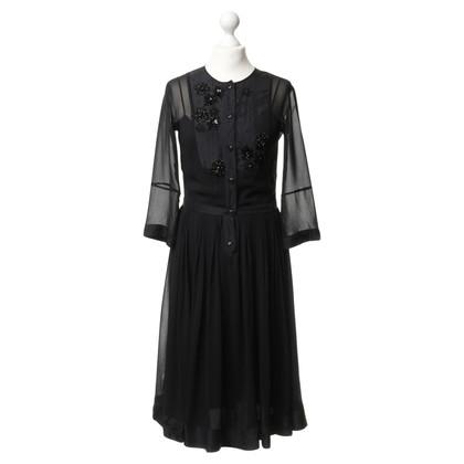 By Malene Birger Kleid mit Perlenbesatz