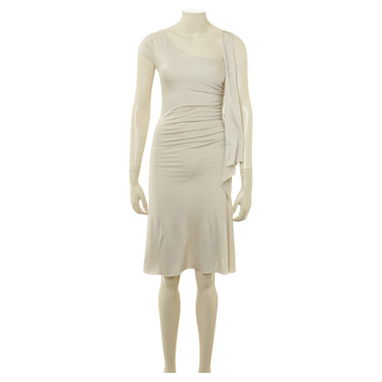 Moschino Kleid in Creme