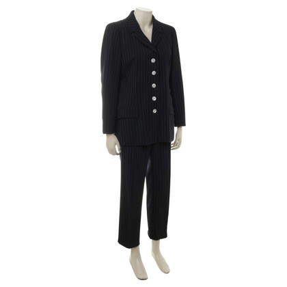 Bogner Trouser suit with pinstripes