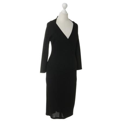 Plein Sud Kleid in Schwarz