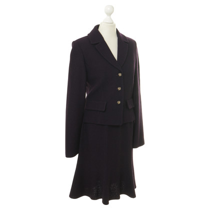 Other Designer St. John collection - costume in aubergine colors