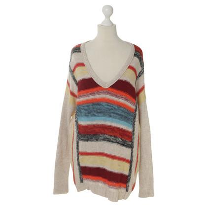 Velvet Maglione maglia con strisce
