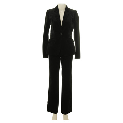 Gucci Velvet suit in black