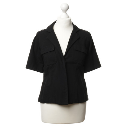 Diane von Furstenberg Short sleeve Blazer in black