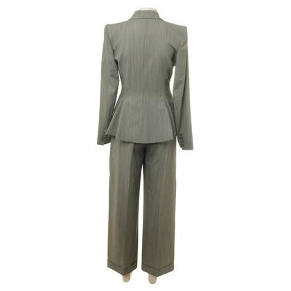 Alexander McQueen Pantalone tuta di lana