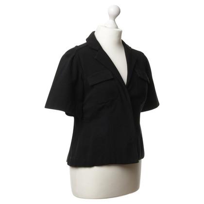 Diane von Furstenberg Short sleeve Blazer in black