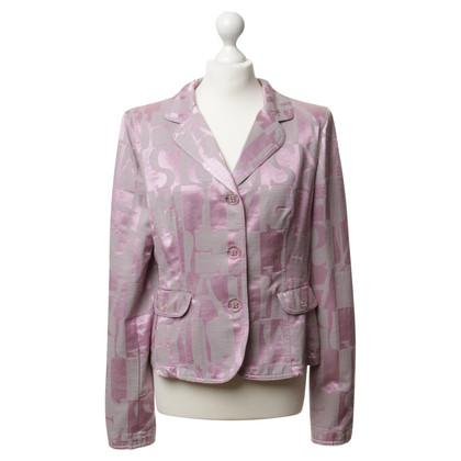 Armani Jeans Blazer in rosa