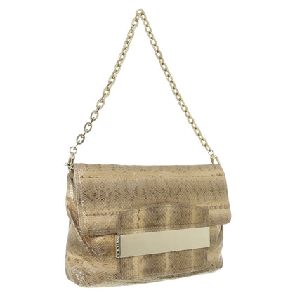 Jimmy Choo Reptile leather shoulder bag