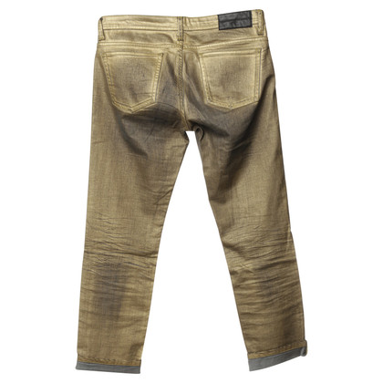 Faith Connexion Jeans met metalen coating