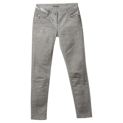 Patrizia Pepe Metallic Jeans