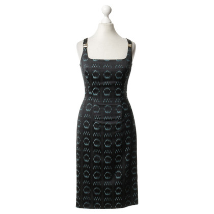 Versace Pinafore dress with pattern