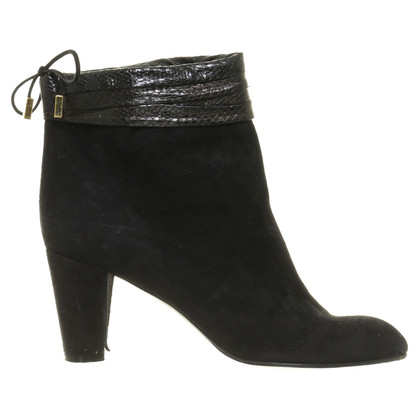 Marc Jacobs Ankle boots with shiny shaft detail