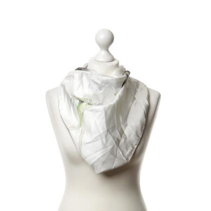Armani Zijden sjaal met beeldjes motief