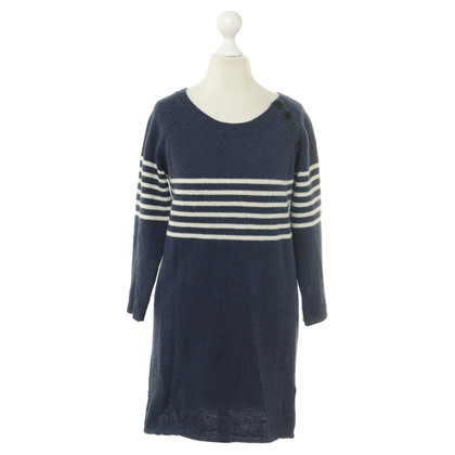 Ganni Stripe knit dress