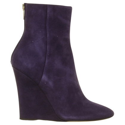 Jimmy Choo Suede Ankle Boots in violet