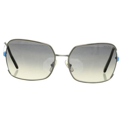 Polo Ralph Lauren Sonnenbrille mit blauen Bügeln