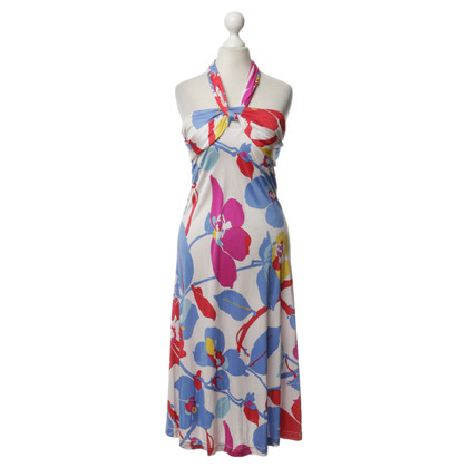 Cacharel Silk dress with pattern
