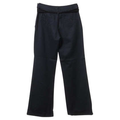 Humanoid Cotton Trousers in dark blue