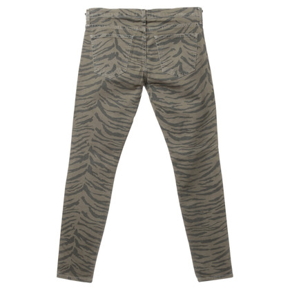Current Elliott Jeans in Zebra design
