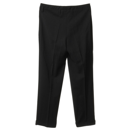 Alberta Ferretti Trousers in black