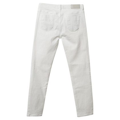 Victoria Beckham Jeans in bianco