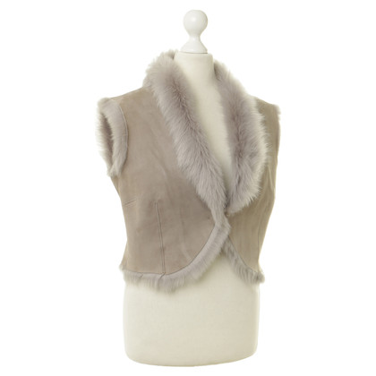 Karl Donoghue Vest with fur lining