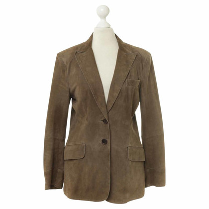 Costume National In pelle scamosciata Blazer