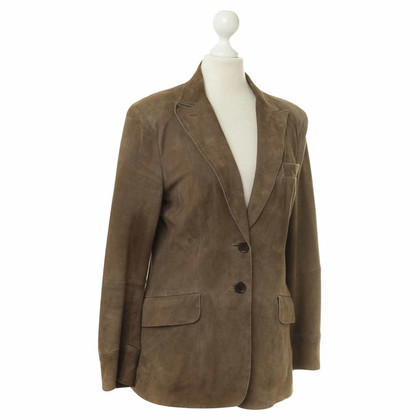 Costume National Blazer aus Wildleder