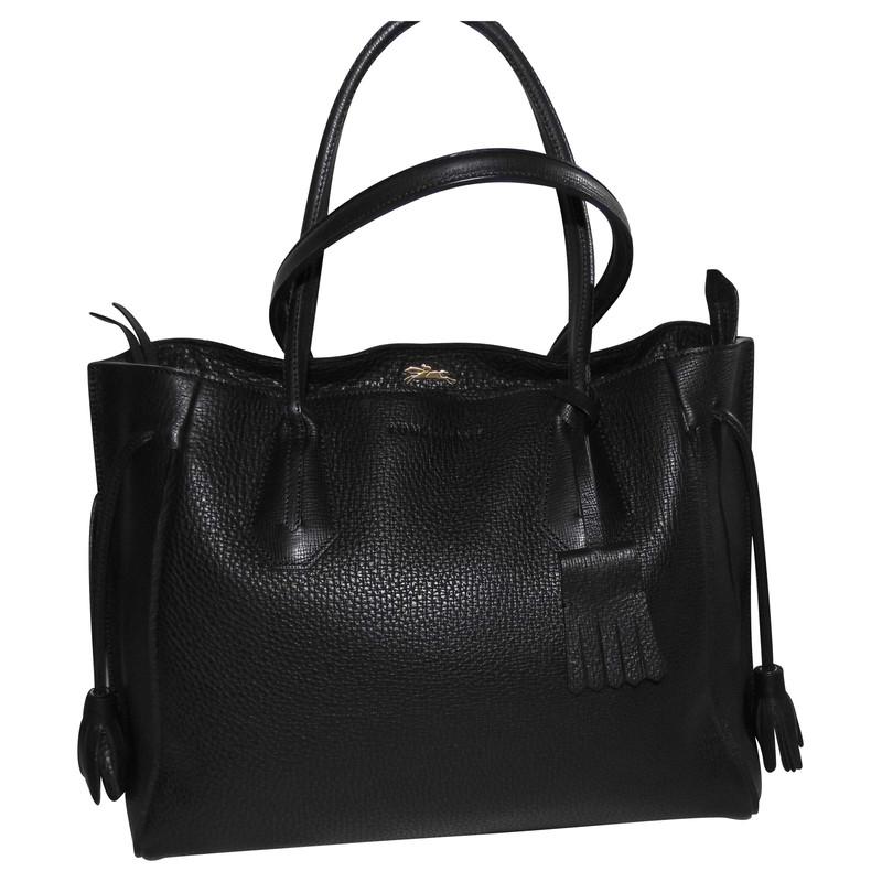 longchamp tote bag p n lope second hand longchamp tote. Black Bedroom Furniture Sets. Home Design Ideas
