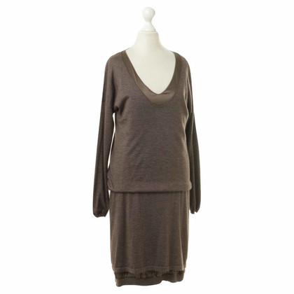 Brunello Cucinelli Kleid aus Kaschmir und Seide