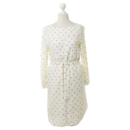 A.P.C. Cream dress with pattern