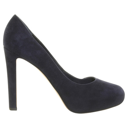Gianvito Rossi Suede leather Pumps with plateau