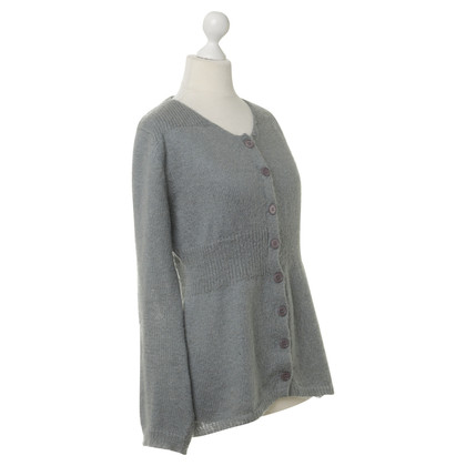 Claudie Pierlot Graue Strickjacke