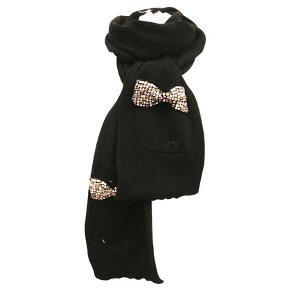 Juicy Couture Scarf with Rhinestone