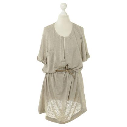 Humanoid Katoenen jurk in beige