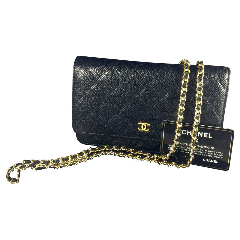 chanel bag wallet on chain buy second hand chanel bag wallet on chain for 1. Black Bedroom Furniture Sets. Home Design Ideas