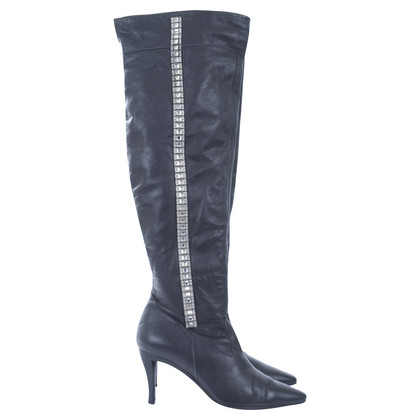 Other Designer Stephane Kélian - boots with Rhinestone