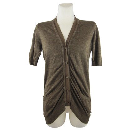 DKNY Cardigan with Ruffles