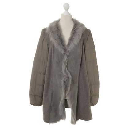 Fabiana Filippi Coat with real fur