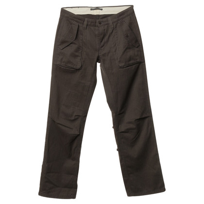 Drykorn Brown pants with a subtle pattern