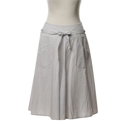 Claudie Pierlot skirt with Strip Imaging