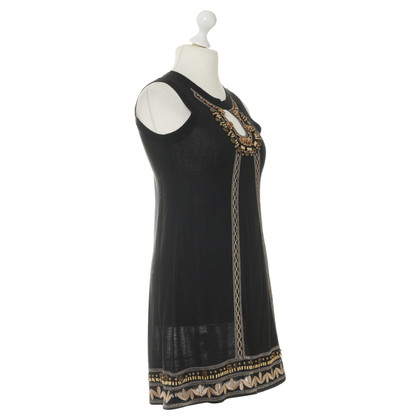 Nanette Lepore Dress with wooden bead trim