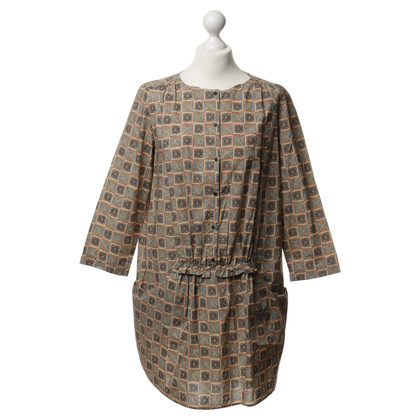 Hoss Intropia Cotton dress with pattern
