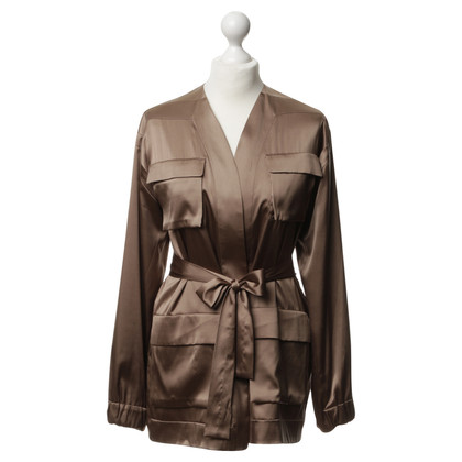 René Storck Kimono in changing Brown
