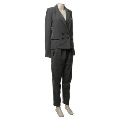 Isabel Marant Etoile Grauer Anzug aus Wollmixtur